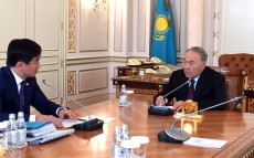 Meeting with Bauyrzhan Baibek, akim of Almaty city