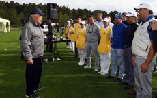 "Participation in the opening of ""Burabay"" golf club"