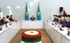 Meeting on socio-economic development of Pavlodar region