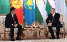 Meeting with President of Kyrgyzstan Sooronbay Jeenbekov