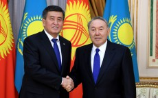 Meeting with Sooronbay Jeenbekov, President of the Kyrgyz Republic
