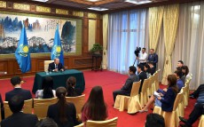 Briefing for representatives of Kazakhstani mass media
