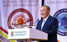 Participation in the ceremony of awarding diplomas to Nazarbayev University graduates