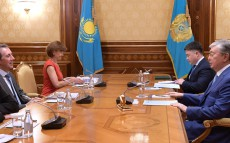 The Head of State meets Cyril Muller, World Bank's Vice President for Europe and Central Asia