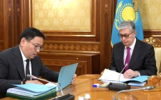 Meeting with Yerbolat Dosayev, Chairman of the National Bank