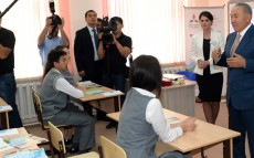 Visit to Multidisciplinary Gymnasium School No 75 of Astana