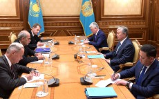 President of Kazakhstan Kassym-Jomart Tokayev received Peter Burian, European Union's Special Representative for Central Asia