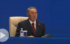 Participation of the President of Kazakhstan N.Nazarbayev in the telebridge, dedicated to the Industrialization Day